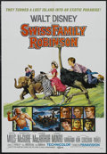 "Movie Posters:Adventure, Swiss Family Robinson (Buena Vista, R-1969). One Sheet (27"" X 41"").Family. Starring John Mills, Dorothy McGuire, James MacA..."
