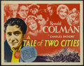 """Movie Posters:Drama, A Tale of Two Cities (MGM, R-1962). Half Sheet (22"""" X 28""""). Drama. Starring Ronald Colman, Elizabeth Allan, Edna May Oliver ..."""