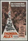 """Movie Posters:Action, Thunder Alley (American International, 1967). One Sheet (27"""" X 41""""). Sports Drama. Starring Annette Funicello, Fabian, Diane..."""