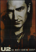 "Movie Posters:Documentary, U2: Rattle and Hum (Paramount, 1988). One Sheet (27"" X 40"") Advance. Musical Documentary. Starring Bono, The Edge, Adam Clay..."