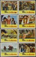 "Movie Posters:Western, The Westerner (United Artists, R-1954). Lobby Card Set of 8 (11"" X 14""). Western. Starring Gary Cooper, Walter Brennan and D... (Total: 8 Items)"