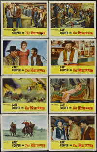 """The Westerner (United Artists, R-1954). Lobby Card Set of 8 (11"""" X 14""""). Western. Starring Gary Cooper, Walter..."""