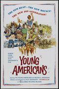 "Movie Posters:Documentary, Young Americans (Columbia, 1967). One Sheet (27"" X 41""). Documentary. Starring Diane Adams, Phil Aubry, Nancy Austin and Pat..."