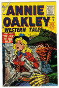 Silver Age (1956-1969):Western, Annie Oakley #10 Mile High pedigree (Timely/Atlas, 1956) Condition:VF/NM. Sol Brodsky cover. Ross Andru and Dick Ayers art....