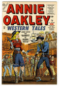 Silver Age (1956-1969):Western, Annie Oakley #11 Mile High pedigree (Timely/Atlas, 1956) Condition:NM-. John Severin cover. Ross Andru art. This book could...