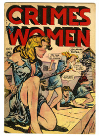 Crimes by Women #3 (Fox Features Syndicate, 1948) Condition: VG-. Used in Seduction of the Innocent. Overstreet 2006 VG...