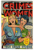 Golden Age (1938-1955):Crime, Crimes by Women #11 (Fox Features Syndicate, 1950) Condition: FN/VF. Overstreet 2006 FN 6.0 value = $177; VF 8.0 value = $36...
