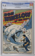 Golden Age (1938-1955):War, Don Winslow of the Navy #47 Crowley Copy pedigree (Fawcett, 1947)CGC NM 9.4 Off-white to white pages. Overstreet 2006 NM- 9...