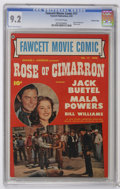 """Golden Age (1938-1955):Western, Fawcett Movie Comic #17 Crowley Copy pedigree (Fawcett, 1952) CGCNM- 9.2 Off-white pages. Features """"Rose of Cimarron."""" Phot..."""