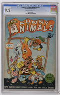 Golden Age (1938-1955):Funny Animal, Fawcett's Funny Animals #33 Crowley Copy pedigree (Fawcett, 1945)CGC NM- 9.2 Cream to off-white pages. Overstreet 2006 NM- ...