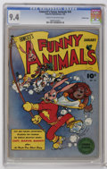 Golden Age (1938-1955):Funny Animal, Fawcett's Funny Animals #34 Crowley Copy pedigree (Fawcett, 1946)CGC NM 9.4 Cream to off-white pages. Overstreet 2006 NM- 9...