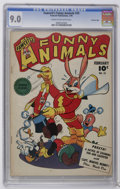 Golden Age (1938-1955):Funny Animal, Fawcett's Funny Animals #35 Crowley Copy pedigree (Fawcett, 1946)CGC VF/NM 9.0 Cream to off-white pages. Overstreet 2006 VF...