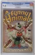 Golden Age (1938-1955):Funny Animal, Fawcett's Funny Animals #37 Crowley Copy pedigree (Fawcett, 1946)CGC VF/NM 9.0 Cream to off-white pages. Overstreet 2006 VF...