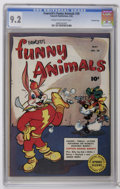 Golden Age (1938-1955):Funny Animal, Fawcett's Funny Animals #38 Crowley Copy pedigree (Fawcett, 1946)CGC NM- 9.2 Cream to off-white pages. Overstreet 2006 NM- ...