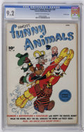 Golden Age (1938-1955):Funny Animal, Fawcett's Funny Animals #39 Crowley Copy pedigree (Fawcett, 1946)CGC NM- 9.2 Cream to off-white pages. Overstreet 2006 NM- ...