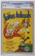 Golden Age (1938-1955):Funny Animal, Fawcett's Funny Animals #44 Crowley Copy/File Copy (Fawcett, 1946)CGC NM 9.4 Cream to off-white pages. This is the only cop...