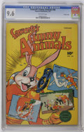 Golden Age (1938-1955):Funny Animal, Fawcett's Funny Animals #46 Crowley Copy pedigree (Fawcett, 1947)CGC NM+ 9.6 Off-white pages. Overstreet 2006 NM- 9.2 value...
