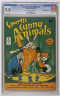 Golden Age (1938-1955):Funny Animal, Fawcett's Funny Animals #47 Crowley Copy/File Copy (Fawcett, 1947)CGC VF/NM 9.0 Cream to off-white pages. This is the only ...