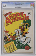 Golden Age (1938-1955):Funny Animal, Fawcett's Funny Animals #51 Crowley Copy pedigree (Fawcett, 1947)CGC NM 9.4 Cream to off-white pages. This is the only copy...
