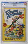 Golden Age (1938-1955):Funny Animal, Fawcett's Funny Animals #52 Crowley Copy pedigree (Fawcett, 1947)CGC NM+ 9.6 Off-white pages. Overstreet 2006 NM- 9.2 value...