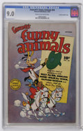 Golden Age (1938-1955):Funny Animal, Fawcett's Funny Animals #54 Crowley Copy/File Copy (Fawcett, 1947)CGC VF/NM 9.0 Cream to off-white pages. A checking copy s...