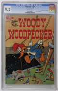"Golden Age (1938-1955):Cartoon Character, Four Color #188 Woody Woodpecker - Davis Crippen (""D"" Copy) (Dell,1948) CGC NM- 9.2 Off-white pages. This copy is currently..."
