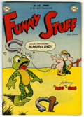 "Golden Age (1938-1955):Funny Animal, Funny Stuff #46 Davis Crippen (""D"" Copy) pedigree (DC, 1949)Condition: VF. Overstreet 2006 VF 8.0 value = $54. From theC..."