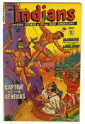 Golden Age (1938-1955):Western, Indians #6 Mile High pedigree (Fiction House, 1951) Condition: NM+. Fiction House books always featured exciting covers, and...