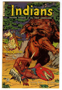 Indians #7 Mile High pedigree (Fiction House, 1951) Condition: NM-. Overstreet 2006 NM- 9.2 value = $135. From the John...