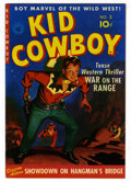 Golden Age (1938-1955):Western, Kid Cowboy #3 Mile High pedigree (Ziff-Davis, 1950) Condition: NM. Painted cover. Overstreet 2006 NM- 9.2 value = $85. Fro...