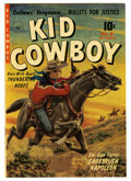 Golden Age (1938-1955):Western, Kid Cowboy #8 Mile High pedigree (Ziff-Davis, 1952) Condition: VF/NM. Painted cover. Overstreet 2006 VF/NM 9.0 value = $69; ...