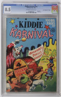 """Golden Age (1938-1955):Humor, Kiddie Karnival #nn Davis Crippen (""""D"""" Copy) (Ziff-Davis, 1952) CGC VF+ 8.5 Off-white to white pages. Only issue. Painted co..."""