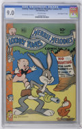 "Golden Age (1938-1955):Funny Animal, Looney Tunes and Merrie Melodies Comics #31 Davis Crippen (""D""Copy) pedigree (Dell, 1944) CGC VF/NM 9.0 Off-white pages. Le..."