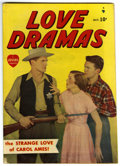"Golden Age (1938-1955):Romance, Love Dramas #1 Davis Crippen (""D"" Copy) pedigree (Marvel, 1949) Condition: FN. Jack KAmen art. Photo cover. Overstreet 2006 ..."