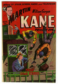 Golden Age (1938-1955):Crime, Martin Kane #2 (Fox, 1950) Condition: VF. Wally Wood story and art. Overstreet 2006 VF 8.0 value = $135. From the John McL...