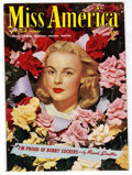 Golden Age (1938-1955):Romance, Miss America Magazine V2#2 Mile High pedigree (Timely, 1945) Condition: NM. Photo cover. Overstreet 2006 NM- 9.2 value = $10...