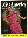 Golden Age (1938-1955):Romance, Miss America Magazine V3#3 Mile High pedigree (Timely, 1945)Condition: VF+. Photo cover. Overstreet 2006 VF 8.0 value = $54...