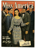 Golden Age (1938-1955):Romance, Miss America Magazine V5#5 (Timely, 1947) Condition: VF/NM. Photocover. Overstreet 2006 VF/NM 9.0 value = $61; NM- 9.2 valu...