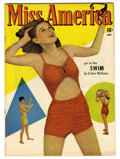 Golden Age (1938-1955):Romance, Miss America Magazine V6#3 Mile High pedigree (Timely, 1947) Condition: NM-. Photo cover. Overstreet 2006 NM- 9.2 value = $7...