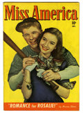 Golden Age (1938-1955):Romance, Miss America Magazine V7#2 (Timely, 1947) Condition: FN. Photocover. Overstreet 2006 FN 6.0 value = $24. From the JohnMc...