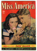 Golden Age (1938-1955):Romance, Miss America Magazine V7#14 Mile High pedigree (Timely, 1948)Condition: FN. Photo cover. Overstreet 2006 FN 6.0 value = $24...