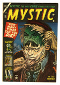 "Golden Age (1938-1955):Horror, Mystic #24 Davis Crippen (""D"" Copy) (Atlas, 1953) Condition: VF. Afantastic copy from the pre-Code horror era. CGC could no..."