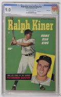Golden Age (1938-1955):Non-Fiction, Ralph Kiner, Home Run King #nn Crowley Copy pedigree (Fawcett,1950) CGC VF/NM 9.0 Cream to off-white pages. The true life s...