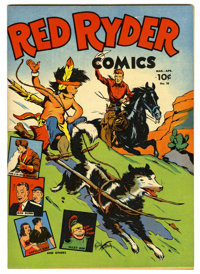 Red Ryder Comics #18 Mile High pedigree (Dell, 1944) Condition: NM-. Fred Harman cover and art. Overstreet 2006 NM- 9.2...