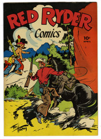 Red Ryder Comics #33 (Dell, 1946) Condition: NM. Fred Harman cover. Overstreet 2006 NM- 9.2 value = $190. From the John...