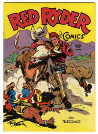 Red Ryder Comics #35 (Dell, 1946) Condition: NM+. Fred Harman cover. Overstreet 2006 NM- 9.2 value = $190. From the John...