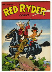 Red Ryder Comics #40 (Dell, 1946) Condition: NM. Fred Harman cover. Overstreet 2006 NM- 9.2 value = $190. From the John...