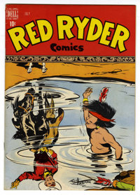 Red Ryder Comics #60 Mile High pedigree (Dell, 1948) Condition: NM-. Fred Harman cover. Overstreet 2006 NM- 9.2 value =...