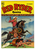 Golden Age (1938-1955):Western, Red Ryder Comics #64 (Dell, 1948) Condition: NM-. Fred Harman cover. Overstreet 2006 NM- 9.2 value = $105. From the John M...