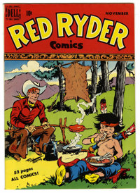 Red Ryder Comics #76 Mile High pedigree (Dell, 1949) Condition: NM+. Fred Harman cover. Overstreet 2006 NM- 9.2 value =...